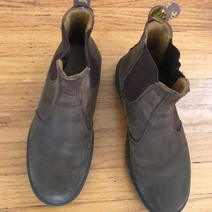 Dr Marten brown leather boots w7